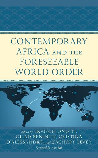 Cover image for the book Contemporary Africa and the Foreseeable World Order