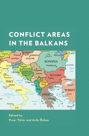 Cover image for the book Conflict Areas in the Balkans