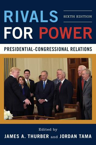 Cover image for the book Rivals for Power: Presidential-Congressional Relations, Sixth Edition