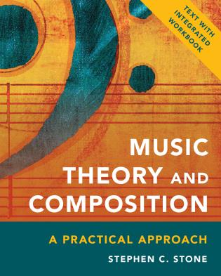 Cover image for the book Music Theory and Composition: A Practical Approach