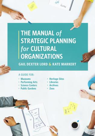 Cover image for the book The Manual of Strategic Planning for Cultural Organizations: A Guide for Museums, Performing Arts, Science Centers, Public Gardens, Heritage Sites, Libraries, Archives and Zoos
