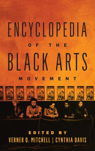 Cover image for the book Encyclopedia of the Black Arts Movement