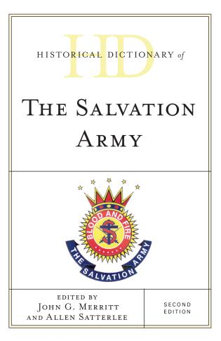 Cover image for the book Historical Dictionary of The Salvation Army, Second Edition