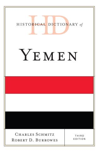 Cover image for the book Historical Dictionary of Yemen, Third Edition