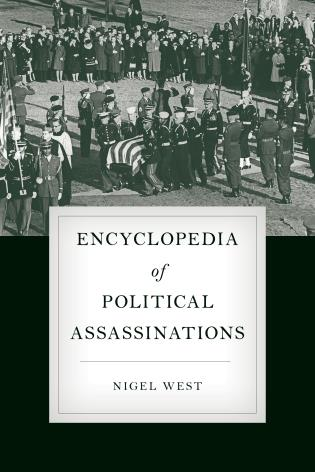 Cover image for the book Encyclopedia of Political Assassinations