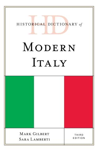 Cover image for the book Historical Dictionary of Modern Italy, Third Edition