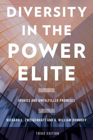 Cover image for the book Diversity in the Power Elite: Ironies and Unfulfilled Promises, Third Edition