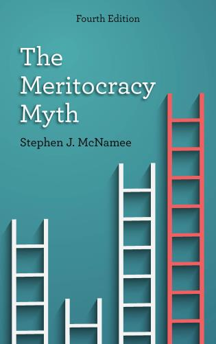 Cover image for the book The Meritocracy Myth, Fourth Edition