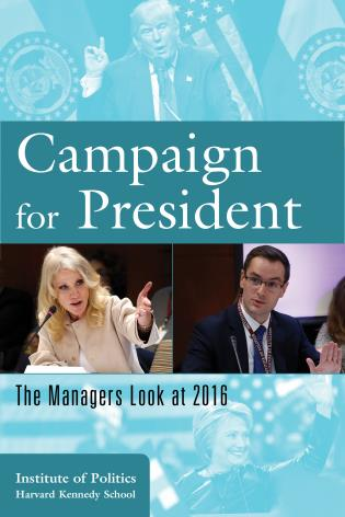 Cover image for the book Campaign for President: The Managers Look at 2016