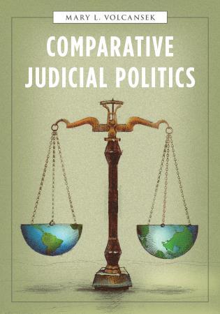 Cover image for the book Comparative Judicial Politics