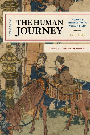 Cover image for the book The Human Journey: A Concise Introduction to World History, 1450 to the Present, Volume 2, Second Edition
