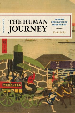 Cover image for the book The Human Journey: A Concise Introduction to World History, Second Edition