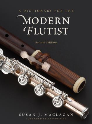 Cover image for the book A Dictionary for the Modern Flutist, 2nd Edition