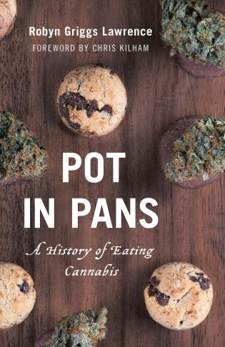 Cover image for the book Pot in Pans: A History of Eating Cannabis