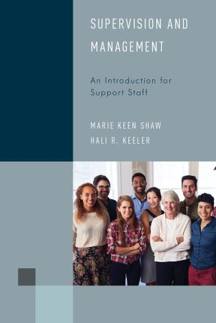 Cover image for the book Supervision and Management: An Introduction for Support Staff