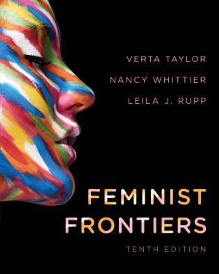 Cover image for the book Feminist Frontiers, Tenth Edition