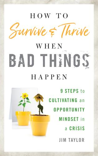 Cover image for the book How to Survive and Thrive When Bad Things Happen: 9 Steps to Cultivating an Opportunity Mindset in a Crisis