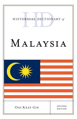Cover image for the book Historical Dictionary of Malaysia, Second Edition