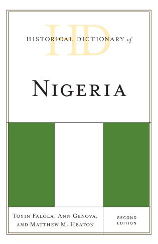 Cover image for the book Historical Dictionary of Nigeria, Second Edition