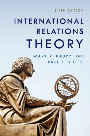 Cover image for the book International Relations Theory, Sixth Edition