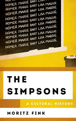 Cover image for the book The Simpsons: A Cultural History