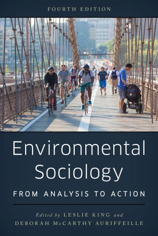 Cover image for the book Environmental Sociology: From Analysis to Action, Fourth Edition