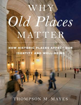 Cover image for the book Why Old Places Matter: How Historic Places Affect Our Identity and Well-Being