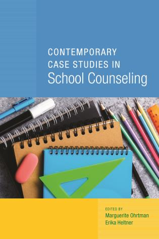 Cover image for the book Contemporary Case Studies in School Counseling