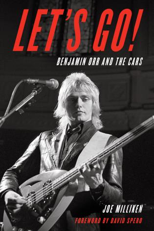 Cover image for the book Let's Go!: Benjamin Orr and The Cars