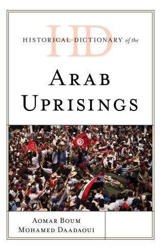 Cover image for the book Historical Dictionary of the Arab Uprisings