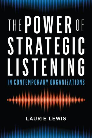 Cover image for the book The Power of Strategic Listening