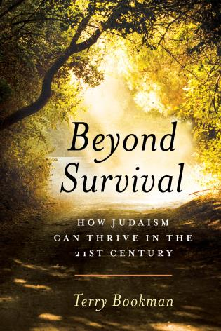 Cover image for the book Beyond Survival: How Judaism Can Thrive in the 21st Century