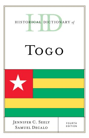 Cover image for the book Historical Dictionary of Togo, Fourth Edition