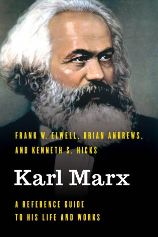 Cover image for the book Karl Marx: A Reference Guide to His Life and Works