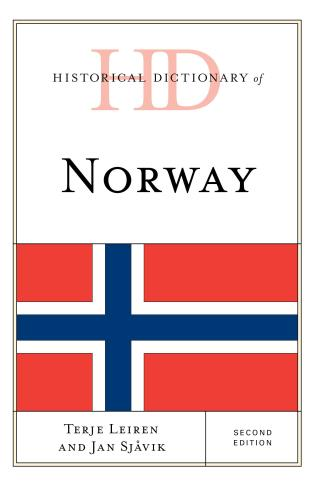 Cover image for the book Historical Dictionary of Norway, Second Edition