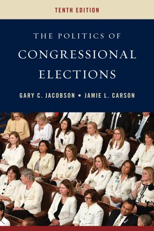 Cover image for the book The Politics of Congressional Elections, Tenth Edition