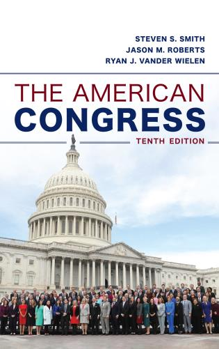 Cover image for the book The American Congress, Tenth Edition