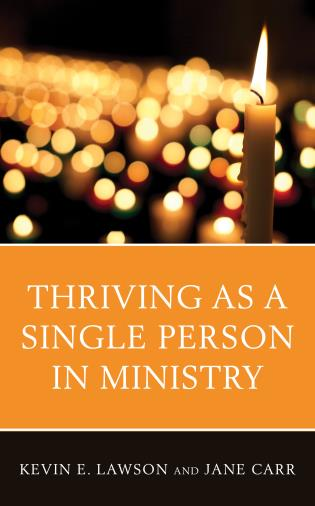 Cover image for the book Thriving as a Single Person in Ministry