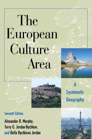Cover image for the book The European Culture Area: A Systematic Geography, Seventh Edition