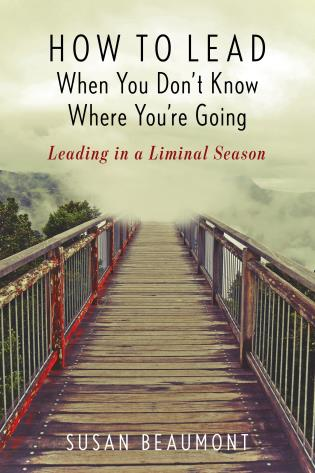 Cover image for the book How to Lead When You Don't Know Where You're Going: Leading in a Liminal Season