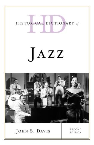 Cover image for the book Historical Dictionary of Jazz, Second Edition