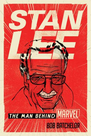 Cover image for the book Stan Lee: The Man behind Marvel