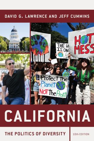 Cover image for the book California: The Politics of Diversity, Tenth Edition