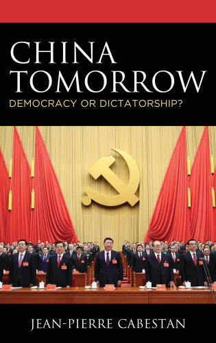 Cover image for the book China Tomorrow: Democracy or Dictatorship?