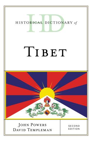 Cover image for the book Historical Dictionary of Tibet, Second Edition