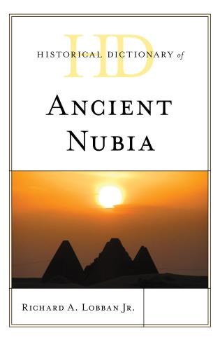 Cover image for the book Historical Dictionary of Ancient Nubia