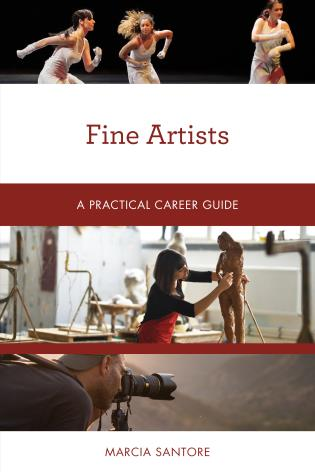 Cover image for the book Fine Artists: A Practical Career Guide