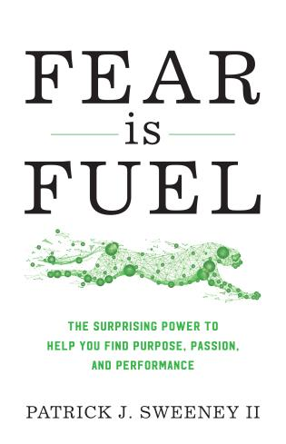 Cover image for the book Fear Is Fuel: The Surprising Power to Help You Find Purpose, Passion, and Performance