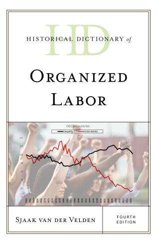 Cover image for the book Historical Dictionary of Organized Labor, Fourth Edition