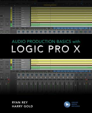 Cover image for the book Audio Production Basics with Logic Pro X